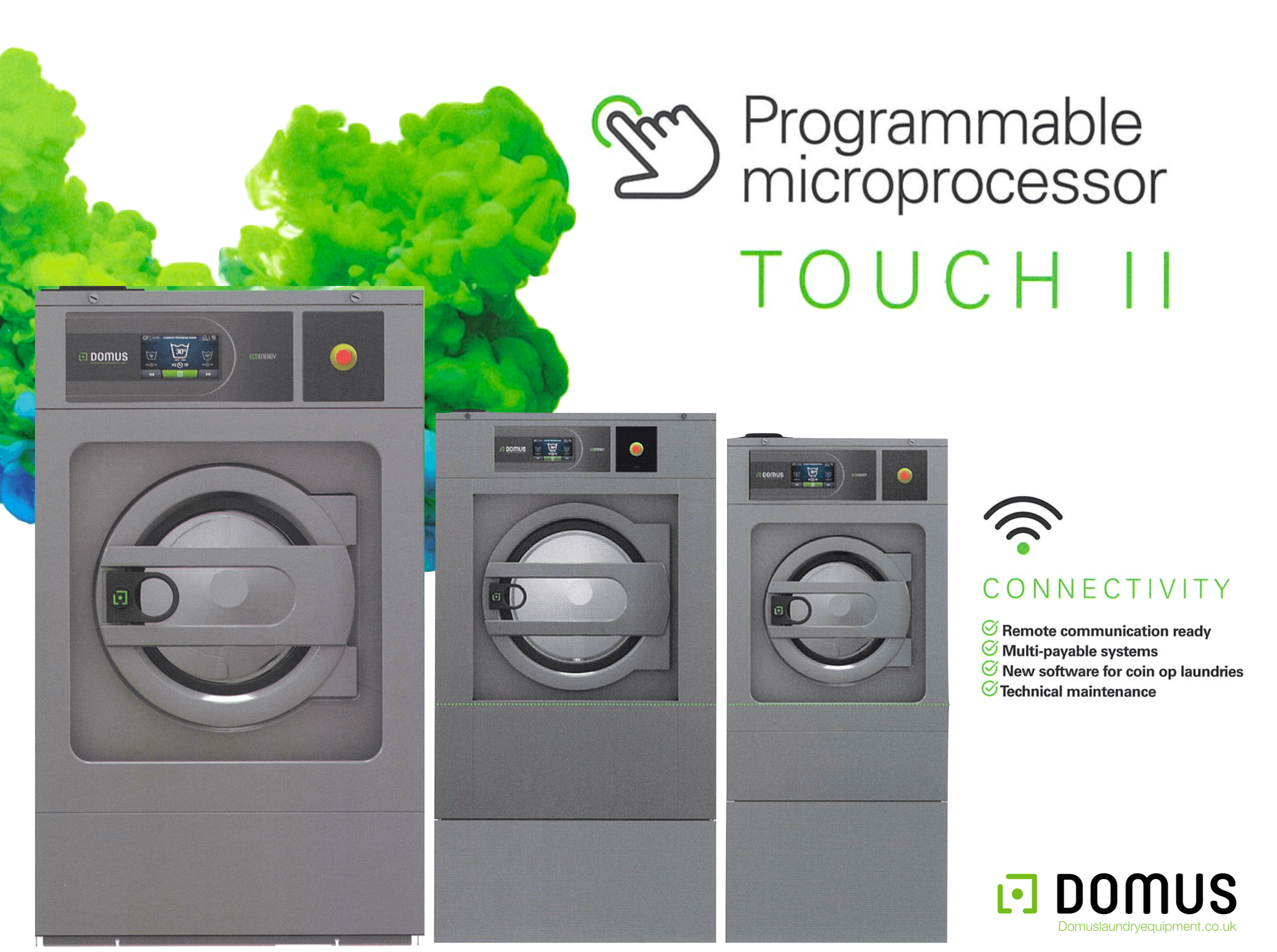 Domus Laundry™ Equipment | Sales, Rental, Service & Parts